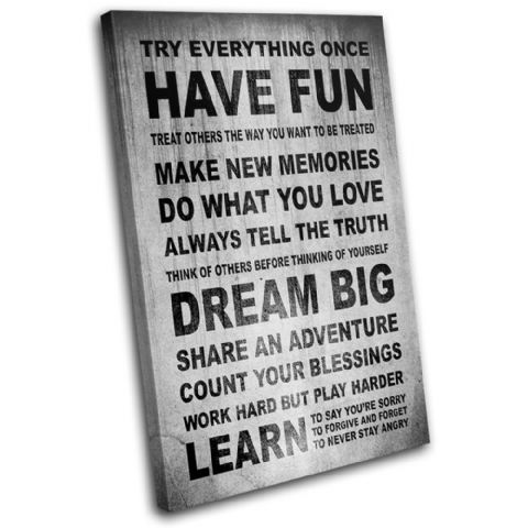 Have fun Motivation Typography - 13-0734(00B)-SG32-PO